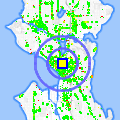 Click for map showing location of City Mini Storage in Seattle (opens in new window)