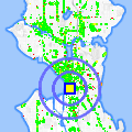 Click for map showing location of Physiotherapy Associates in Seattle (opens in new window)