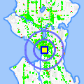 Click for map showing location of Community Grocery in Seattle (opens in new window)