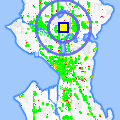 Click for map showing location of Starbucks Wallingford in Seattle (opens in new window)