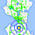 Click for map showing location of Olympic Reprographics in Seattle (opens in new window)