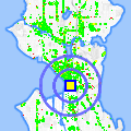Click for map showing location of Akanyi African & Tribal Art in Seattle (opens in new window)