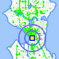Click for map showing location of Union Gospel Mission in Seattle (opens in new window)