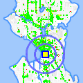 Click for map showing location of Seattle Lighting Fixture in Seattle (opens in new window)