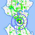 Click for map showing location of All City Bail Bonds in Seattle (opens in new window)