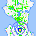 Click for map showing location of Paratex Pest Control in Seattle (opens in new window)