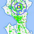 Click for map showing location of Salon Excellence in Seattle (opens in new window)
