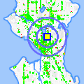 Click for map showing location of Zymogenetics in Seattle (opens in new window)