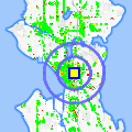Click for map showing location of The Eagle in Seattle (opens in new window)