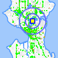 Click for map showing location of Lake Union Mail in Seattle (opens in new window)