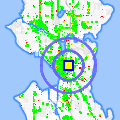 Click for map showing location of Spine and Crown (MOVED) in Seattle (opens in new window)
