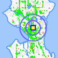Click for map showing location of Sun Liquor in Seattle (opens in new window)