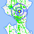 Click for map showing location of No Charge in Seattle (opens in new window)