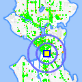 Click for map showing location of Champagne Restaurant in Seattle (opens in new window)