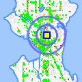 Click for map showing location of Clearpoint Condos in Seattle (opens in new window)