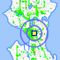 Click for map showing location of Kaladi Brothers Coffee in Seattle (opens in new window)