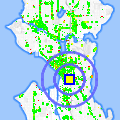 Click for map showing location of Colors Abloom in Seattle (opens in new window)