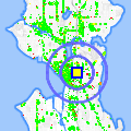 Click for map showing location of Cingular Wireless in Seattle (opens in new window)