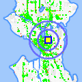 Click for map showing location of AAA Locksmith & Security in Seattle (opens in new window)