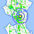Click for map showing location of Dalat Cafe in Seattle (opens in new window)
