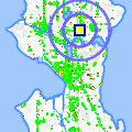 Click for map showing location of Ly's Donuts in Seattle (opens in new window)