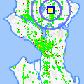Click for map showing location of Bengal Tiger in Seattle (opens in new window)