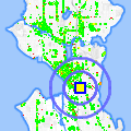 Click for map showing location of Wan Le Auto Service in Seattle (opens in new window)
