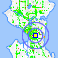 Click for map showing location of Zobel Ethiopian Restaurant/Bar in Seattle (opens in new window)