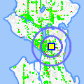 Click for map showing location of Public Storage in Seattle (opens in new window)