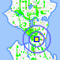 Click for map showing location of Pho Bac in Seattle (opens in new window)