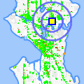 Click for map showing location of Univ Professional  Ctr in Seattle (opens in new window)