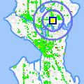 Click for map showing location of Johnny's Flowers in Seattle (opens in new window)