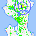 Click for map showing location of Frank Fu State Farm in Seattle (opens in new window)
