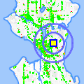 Click for map showing location of Group Health East Bldg in Seattle (opens in new window)
