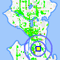 Click for map showing location of Best Real Estate Services in Seattle (opens in new window)