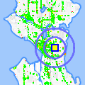 Click for map showing location of Northwest Language & Learning in Seattle (opens in new window)