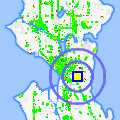 Click for map showing location of Seattle Neighborhood Group in Seattle (opens in new window)