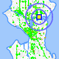 Click for map showing location of Paul G Allen CCSE in Seattle (opens in new window)