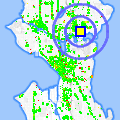 Click for map showing location of Hall Health Primary Care Center in Seattle (opens in new window)