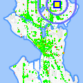 Click for map showing location of University Prep in Seattle (opens in new window)