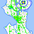 Click for map showing location of Dahl Playfield Restrooms in Seattle (opens in new window)