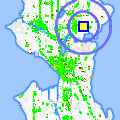 Click for map showing location of Rouge in Seattle (opens in new window)