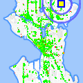 Click for map showing location of Physical Therapy Specialties in Seattle (opens in new window)