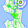 Click for map showing location of View Ridge Chiropractic in Seattle (opens in new window)