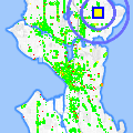 Click for map showing location of Family Dentistry in Seattle (opens in new window)
